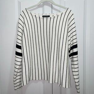 Banana Republic B&W Striped Sweater